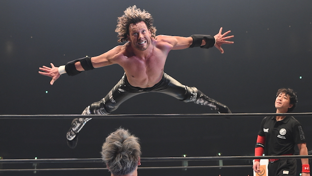 Chris Jericho Draws First Blood; Attacks Omega In NJPW (Photo/Video)