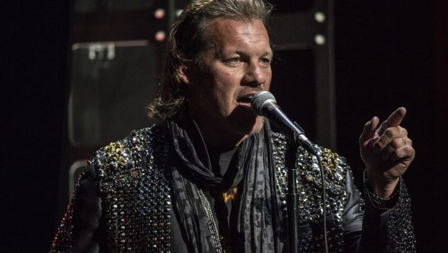 Backstage Photos Of Chris Jericho Dressed Up As Pentagon At All In