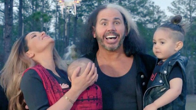 Matt Hardy And Family Filming Pilot For New WWE Network Special