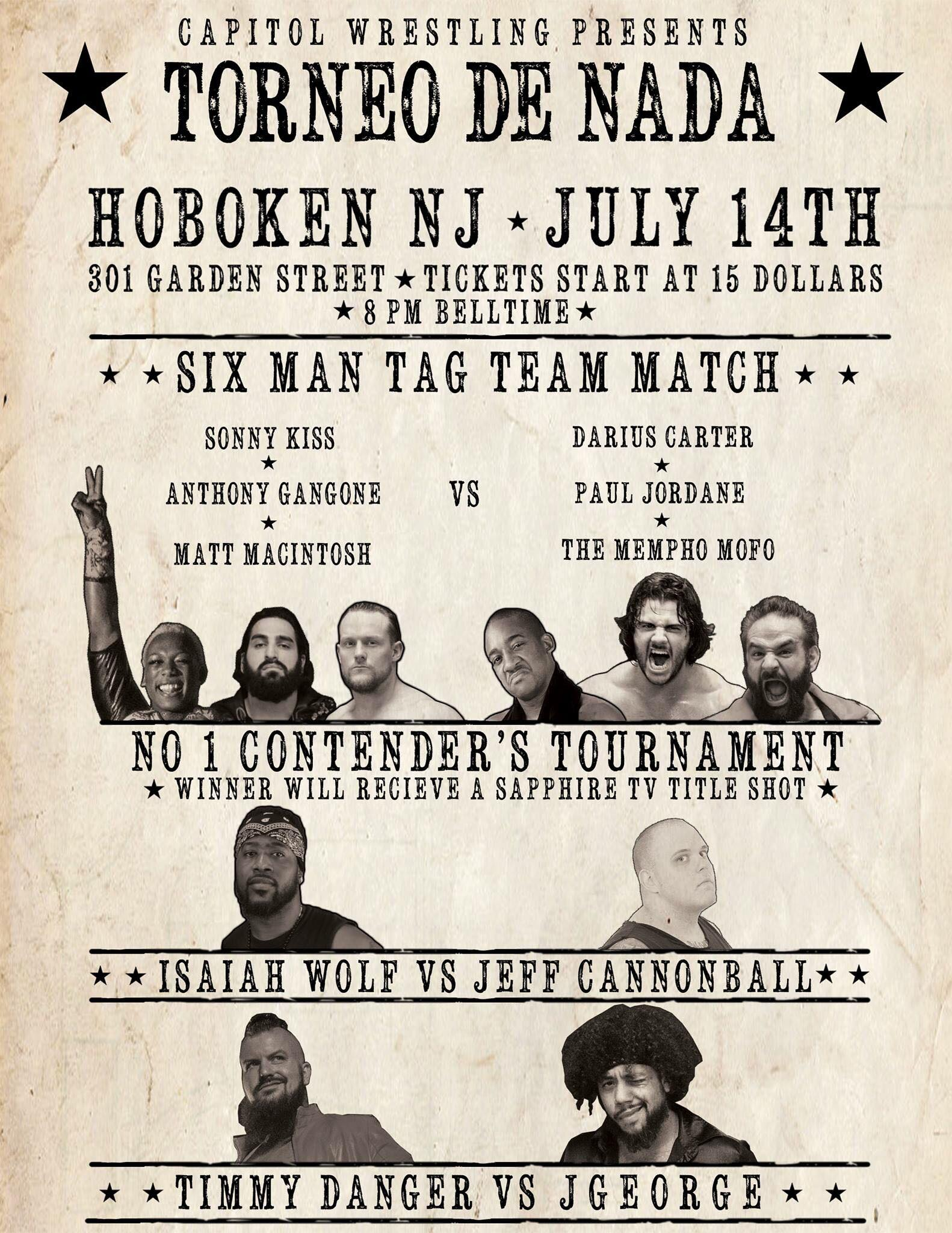View From The Capitol #11: Grey Album Fallout Leads Into Massive July 14th 6-Man Main Event, Including The Return Of Sonny Kiss!