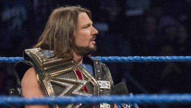 WWE Title Match Set For Super Show-Down