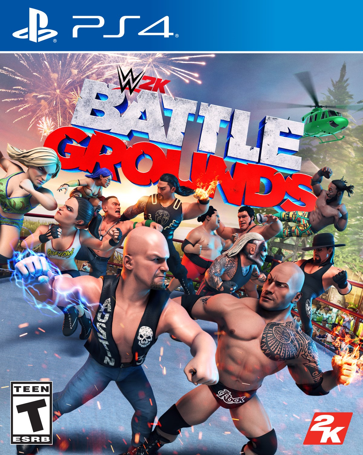 WWE 2K Battlegrounds Pre Orders Are Now Live