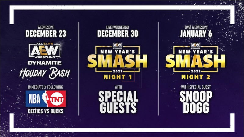 AEW Holiday Schedule