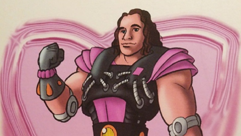 WCW Animated Series Bret Hart