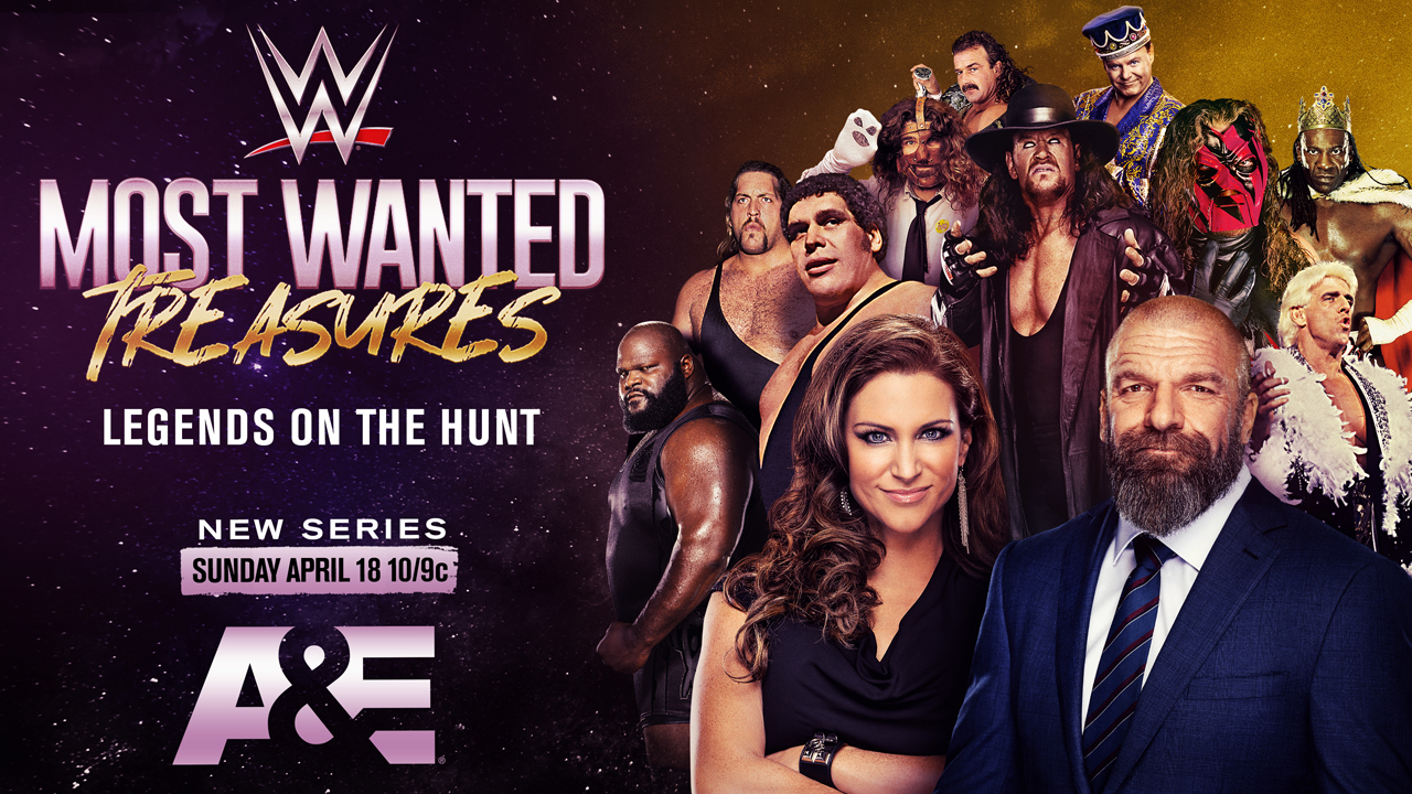 wwe most wanted treasures