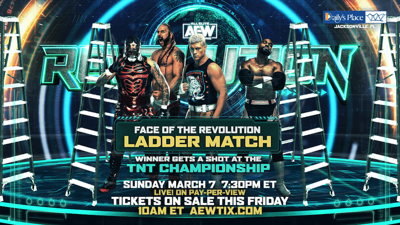 Face of the Ladder Match
