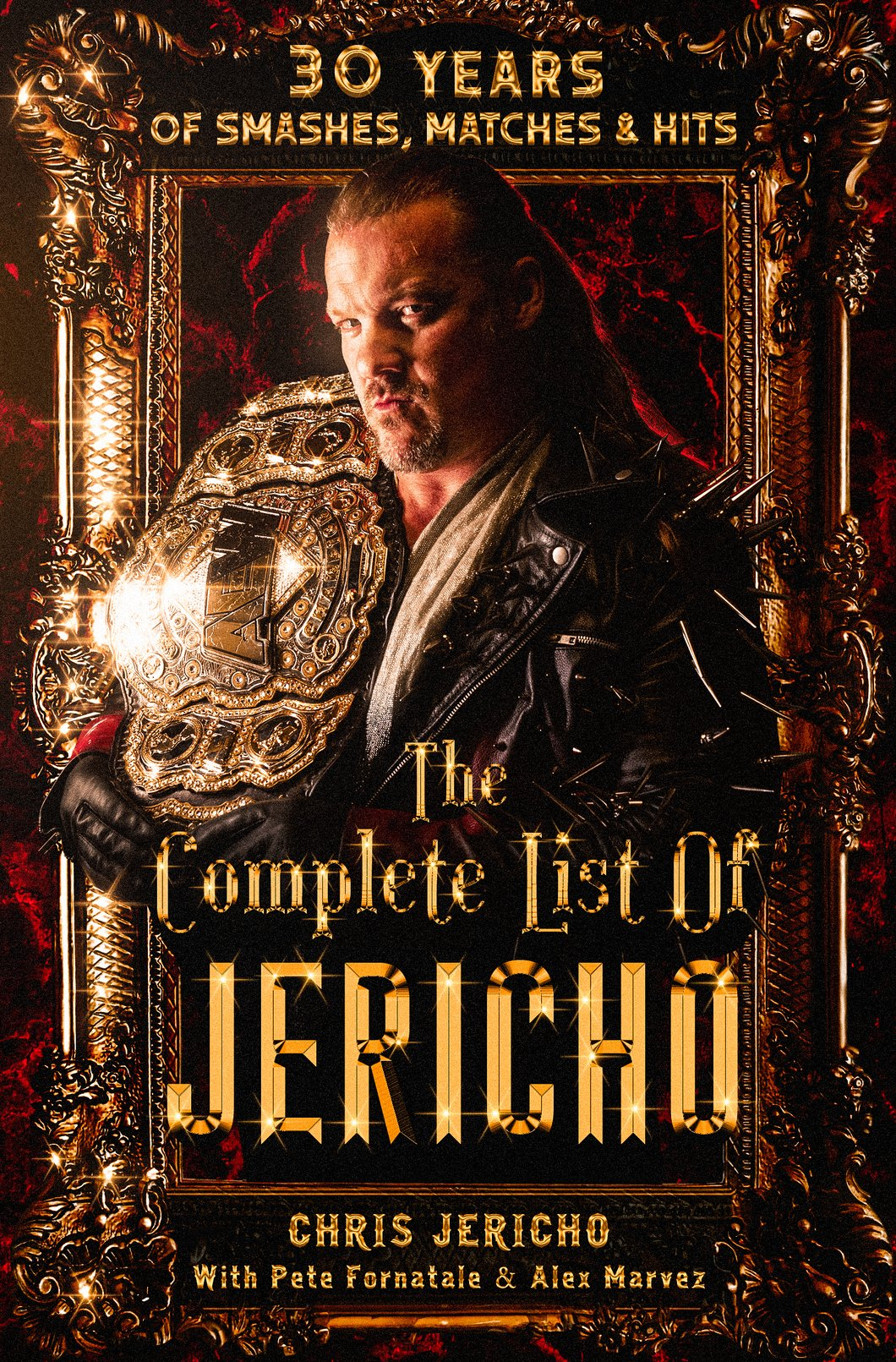 the full list of jericho chris jericho cover