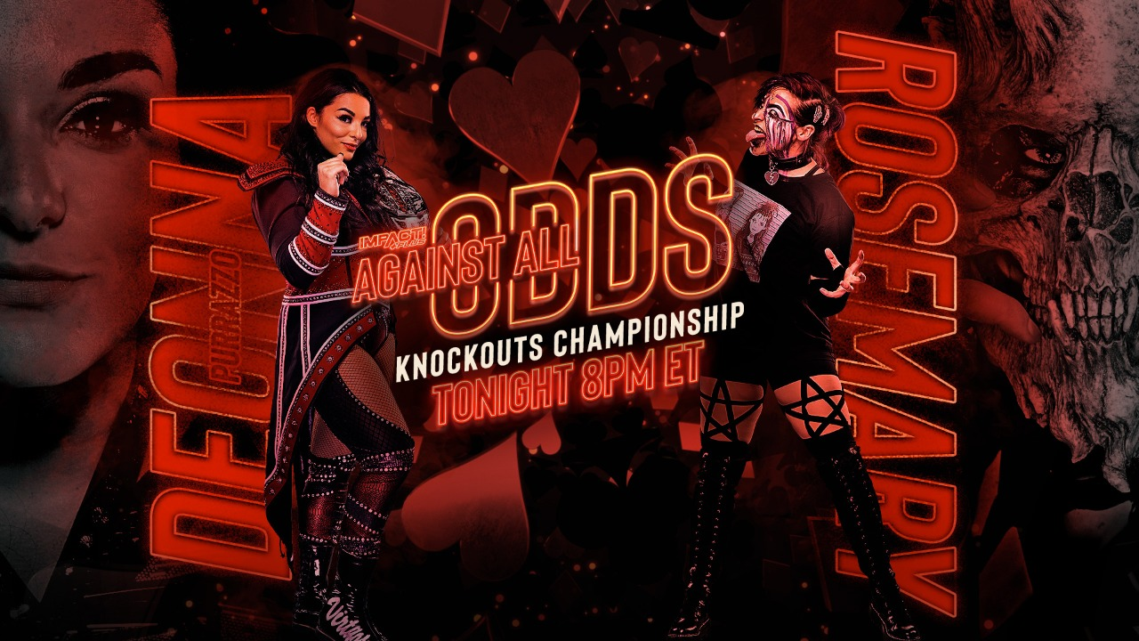 Deonna Purrazzo Rosemary IMPACT Against All Odds