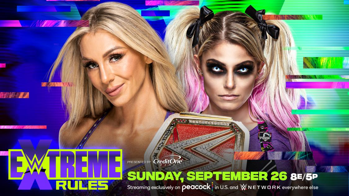 Flair Bliss WWE Extreme Rules
