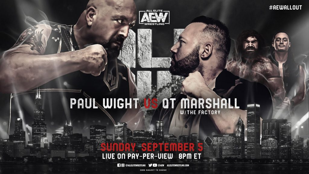 Marshall Wight AEW All Out