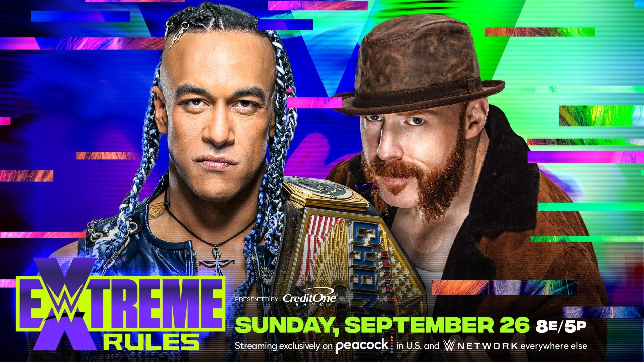 Priest Sheamus WWE Extreme Rules
