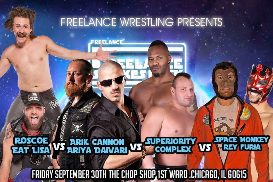 Freelance Wrestling Tag Team Scramble Match