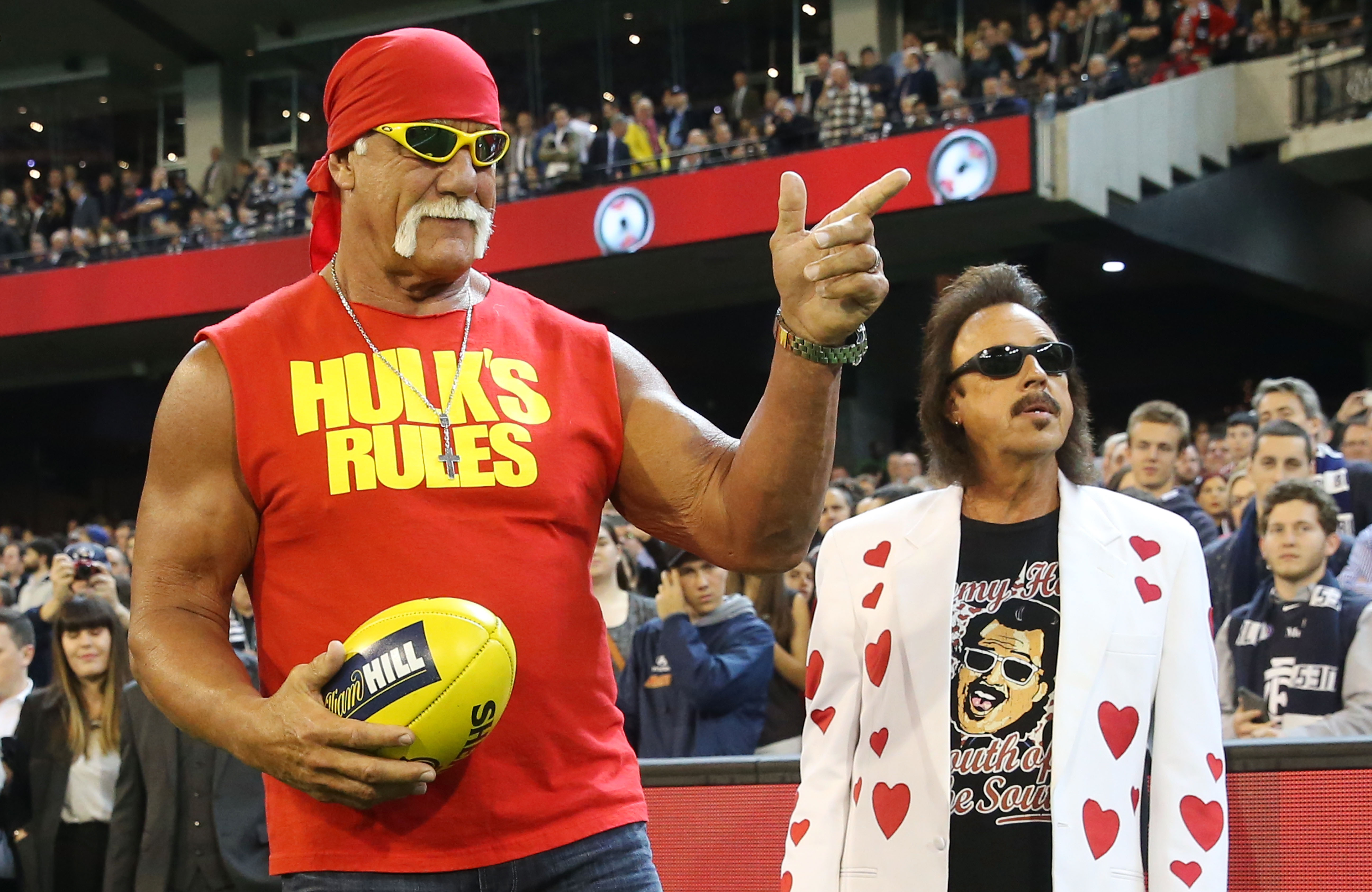 Hulk Hogan & Jimmy Hart