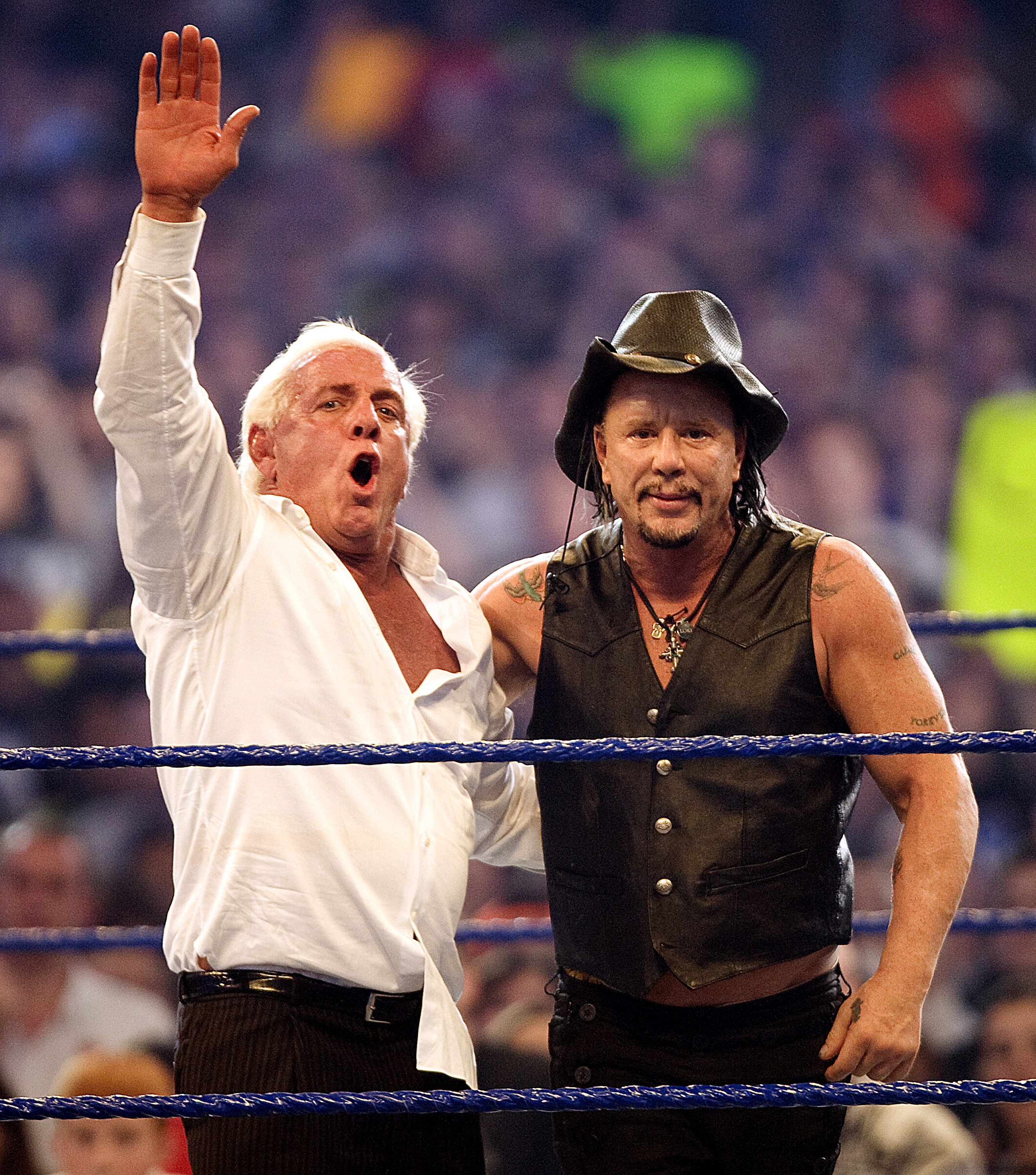 Ric Flair & Mickey Rourke