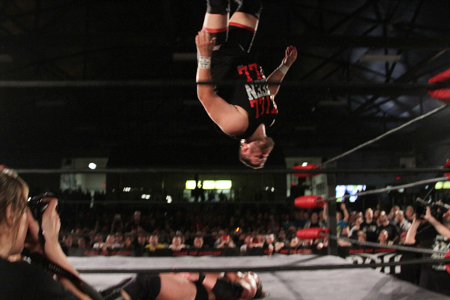 Kevin Steen Forgets How to Gravity