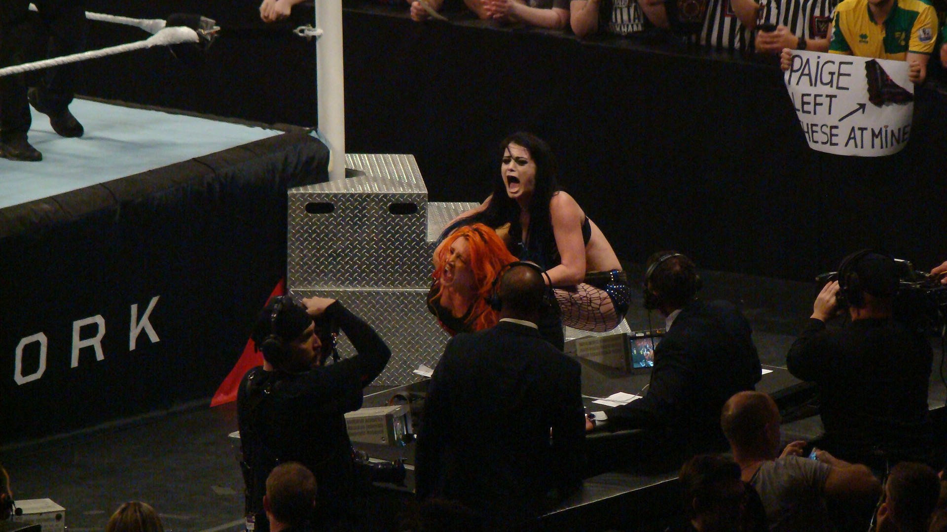 Paige and Becky Lynch